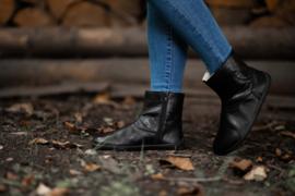 Be Lenka - Barefoot schoenen voor vrouwen, met merino wol voering - model Polar - Zwart - Maat 38 is voorradig. Andere maten worden bij besteld / op bestelling (36 tem 43)