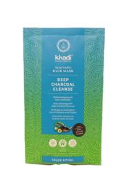 Khadi - Bio Deep Clean of Pre Color Haarmasker, met Amla en actieve zwarte kool - 50 gr