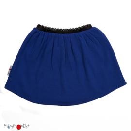 Manymonths - Princess skirt Rok in merinowol - Jewel Blue