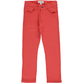 Maxomorra - Softpants Sweat- Rusty Red