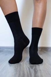 Be Lenka - Barefoot sokken met ergonomische vorm, in dun en zacht katoen - Zwart in 35/38