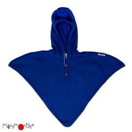 Manymonths - Hooded Altair Multi Cape, meegroei maat - Jewel Blue