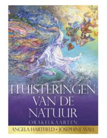 Kaartenset met boek -  Fluisteringen van de natuur - Angela Hartfield en Josephine Wall