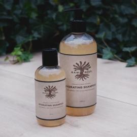 RAW ROOTs - Hydrating Shampoo voor normaal of droog haar, droge huid, schilfers of dreadlocks - 200 ml
