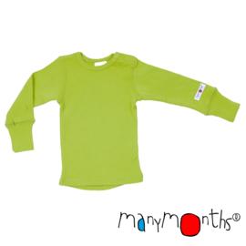 Manymonths - Longsleeve merinowol Enthusiast (meegroei 8 tem 10 jaar) - Sweet Apple