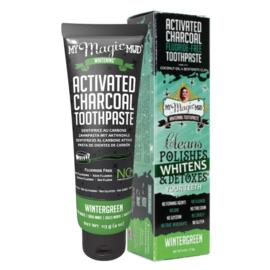 MY Magic Mud - Actieve kool tandpasta, geen fluor - Wintergreen