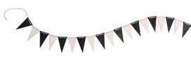 Grimm's - Houten vlaggenlijn, monochrome - 93150
