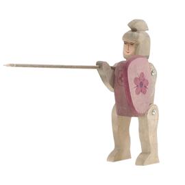 Ostheimer - Ridder ruiter violet, met lans en schild - 2751
