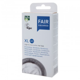 Fair Squared - Condooms XL 60 - 10 stuks