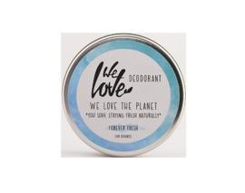 We love the planet - Deodorant creme - Mighty mint - 48 gr - Ten minste houdbaar tem 4/2020