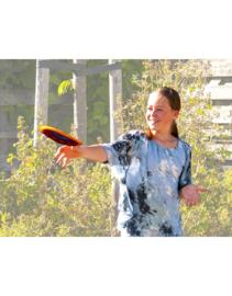 Flying discs - Gehaakte Frisbee Fair Trade uit Guatemala