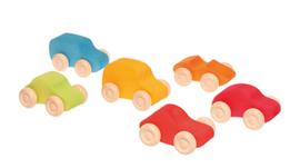 Grimm's - Gekleurde auto's, 6 stuks - 09310