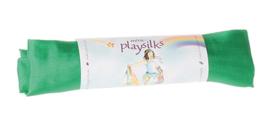 Sarah's Silks - Speelzijde 86x86 cm, smaragd groen - 85014