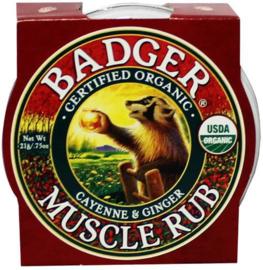 Badger Balm - Spierbalsem - 21 gram