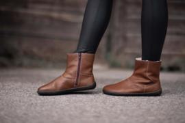 Be Lenka - Barefoot schoenen voor vrouwen, met merino wol voering - model Polar - Bruin - Maat 37 op voorraad. Andere maten op bestelling (36 tem 43)