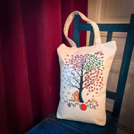 ManyMonths  - Draagtas  - Four Season Tree Tote Bag