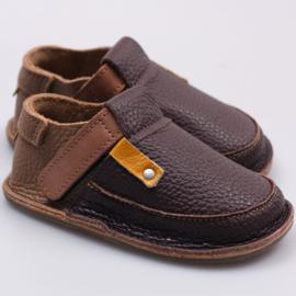 Tikki Shoes  - Barefoot schoenen - Coffee in maat 18 = Laatste paar