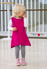 Manymonths - Orion wrap wool tunic vest - Lilac Rose