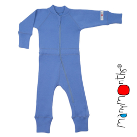 Manymonths - One Piece Suit - meegroei concept - Provence Blue