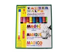 Okonorm - Magic pen - 9 kleuren en 1 kleur veranderaar