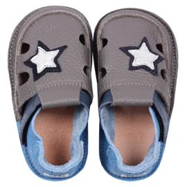 Tikki Shoes  - Barefoot Sandalen - Starlit sky in 18 = Laatste paar