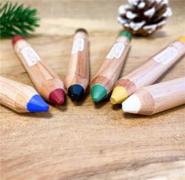 Namaki - Biologische Schmink Rainbow - 6 kleuren