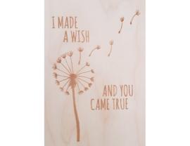 Beavers Woodland - Kaart - I made a wish and you came true