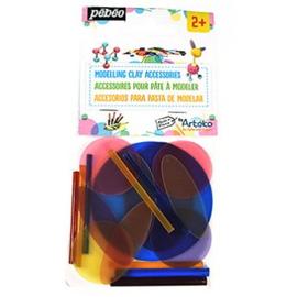 Pebeo Arteko - Bioplastic vormpjes in zakje - 20 stuks