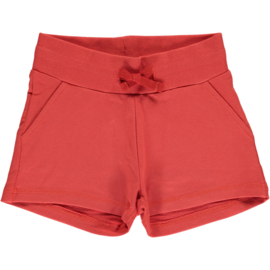 Maxomorra - Sweatshorts - Rusty Red