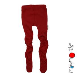 Manymonths - Baby Kousenbroek Maillot in merinowol - Raspberry Red