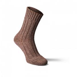 Fellhof - Alpaka wol sokken, dik - Donkerbruin - maat 35/38, 39/42, 43/46