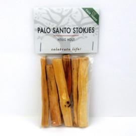 Palo Santo (Heilig Hout) - ongeveer 25 gram (4 tot 6 stuks)