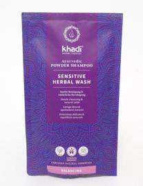 Khadi - Sensitive herbal wash Shampoo in poeder - 50 gr