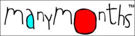 Manymonths - Jurk  Longsleeve dress Heart Pocket - Mykonos Water