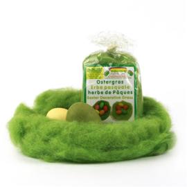 Oekonorm - Gras voor paaseieren - wol, 20 gram