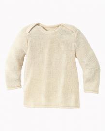 Disana - Gebreide melange trui - Natuur - 50/56 Laatste stuk