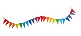 Grimm's - Houten vlaggenlijn, regenboogkleuren - 70245
