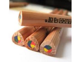 Okonorm - Regenboog potlood normale dikte, rond - 1 stuk