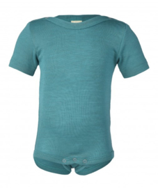 Kind Wol & Zijde Body, Hemd, T-shirt, Longsleeve