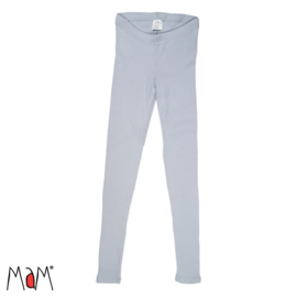 Manymonths MaM - Legging merinowol, dikkere stof - Bright Silver