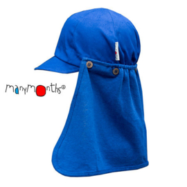 Manymonths - Zonnehoed pet Multicap - Mazarine Blue - verstelbaar 3 maanden tem 2 a 2,5 jaar