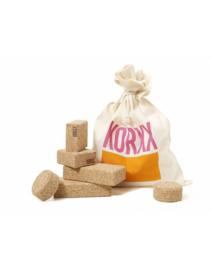 Korxx - Baby kurkblokken natural - 10 stuks