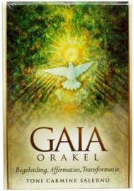 Kaartenset met boek - Gaia Orakel - Toni Carmine Salerno