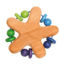 Grimm's - Grijpspeelgoed ster, blauw paars groen - 08013