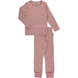 Maxomorra - Pyjama set Legging en Longsleeve - Elephants in 122/128