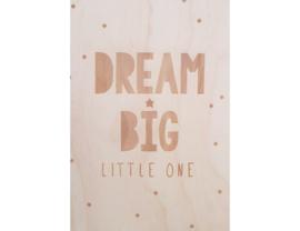 Beavers Woodland - Kaart - Dream big little one