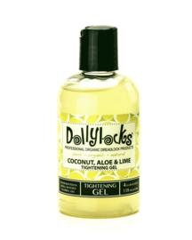 Dollylocks - Thightening gel - Coconut Aloe Lime - 30 ml, 118 ml of 236 ml