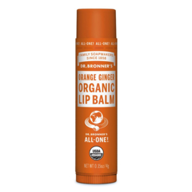 Dr. Bronners Magic - Lippenbalsem Gember Sinaasappel - 4 ml