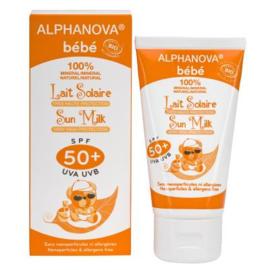 Alphanova Sun Bio - Baby zonnemelk SPF 50+  - 50 gr