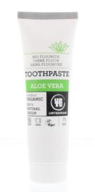 Urtekram - Tandpasta - Aloe Vera, geen fluor - 75 ml